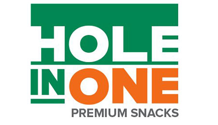 Logo: Hole in One Premium Snacks